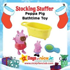 Bathtime is about to be way more fun with this Peppa Pig bathtime toy set!