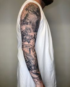 on Harry Potter sleeve healed what other sleeves would you guys like to see me do ! Baby Feet Tattoos, Mommy Tattoos, Baby Name Tattoos, Leg Tattoos, Friend Tattoos, Family Tattoos, Tatoos, Leg Sleeve Tattoo, Full Sleeve Tattoos