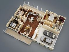 24 x 36 floor plans nominal size 24 x 52 actual size for Thehousedesigners com home plans