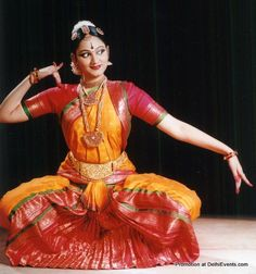 Bharatnatyam -  Indian Classical Dance form, originated from Tamil Nadu, India