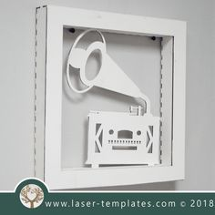 This ready-to-go Vintage Radio Frame is perfect for laser cutting. Try something new and create unique products suitable for Interior Decorating, Birthday Gifts, Special Occasion Gifts and so on. Try Something New, Birthday Gifts, Interior Decorating, Templates, Laser Cutting, Frames, Vintage, Patterns, Ideas