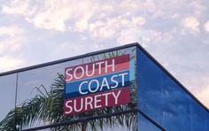 South Coast Surety - Building Sign | Starfish Signs & Graphics