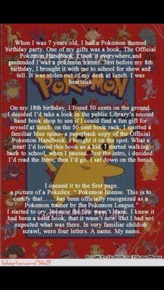 Pokemon dreams come true :')