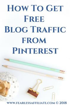 If you want free organic blog traffic from Pinterest, there are a few steps first. Read them now! #pinterest #richpins #verifywebsite #groupboards #images