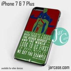 J'ONN Martian Phone case for iPhone 7 and 7 Plus