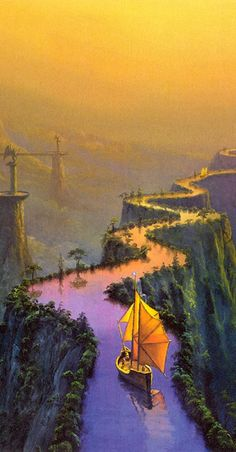 The Road to Samarkand by Thomas Thiemeyer (cropped for detail)