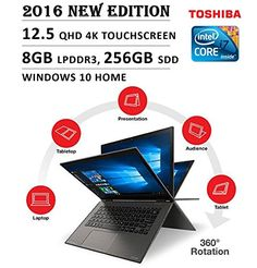 OpenBox 2016 Newest Toshiba Radius Flagship Premium High Performance x Laptop Deals, Laptop Shop, Best Laptop Brands, Best Laptops, Multi Touch, Windows 10, Convertible, Free Shipping