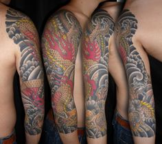 May 2013 LST TOTM by Henning Jorgensen when he was guest tattooing at Kings Avenue Tattoo