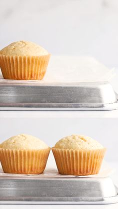 This basic muffin recipe uses flour, sugar, milk, butter and eggs to make delicious muffins. It's a versatile muffin recipe with the option to add mix-ins! Healthy Muffin Recipes, Easy Cake Recipes, Sweet Recipes, Real Food Recipes, Dessert Recipes, Plain Muffin Recipe, Cake Flour Recipe, Recipes With Cake Flour, Basic Cupcake Recipe