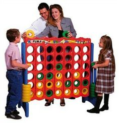 This is Connect Four on steroids! Will provide hours of fun and movement. Free shipping http://www.sensoryedge.com/feber-mega-4-in-line.html