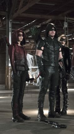 Arrow 4x08 - Thea, Oliver & Laurel