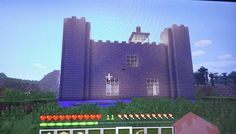Minecraft Castle (side view)