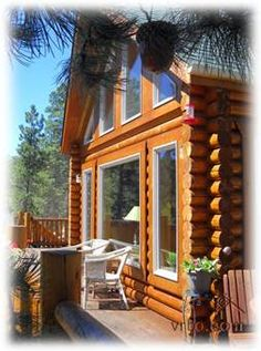 Gorgeous Log Cabin Pikes Peak Views Woodland Park Colorado