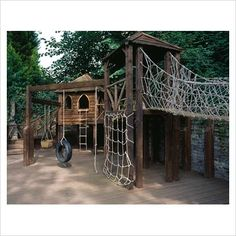 this would be AWESOME to have in my backyard! why do play areas have to be so dang EXPENSIVE?!
