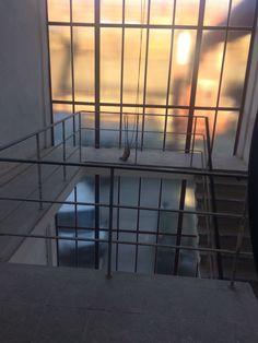 Das Treppenhaus zwischen Grand Hall und Schalthaus nimmt auch Form an.