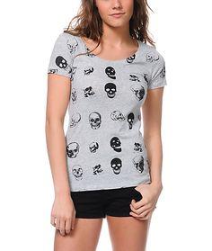 Skull Face t-shirt from Bitter Sweet