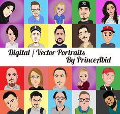 I Creat Digital / Vector Portraits Want yours done ?? Join the community send me a request here Google Plus > https://goo.gl/XEaCND Facebook > https://goo.gl/KgBvBq%0Aemail/hangouts > sabid56@gmail.com