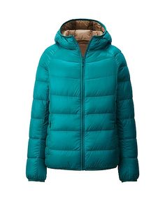 Uniqlo x Ultra Light Down Hooded Parka for Women with Nylon Pouch (Green) Uniqlo Jackets, Women's Jackets, Jacket Images, Hooded Parka, Cool Style, My Style, Down Parka, Downlights, Autumn Winter Fashion