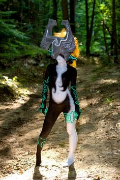 Wow. I don't think I've actually seen a Midna cosplay.