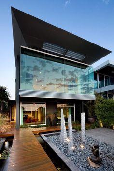 Minecraft Build A Modern House. 20 Minecraft Build A Modern House. Watch Clip Minecraft How to Build A Modern Mansion House Architecture Design, Beautiful Architecture, Residential Architecture, Contemporary Architecture, Australian Architecture, Contemporary Homes, Modern Homes, Melbourne Architecture, Architecture Today
