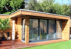 Garden Studio built in London by us! www.gardenlodges.co.uk