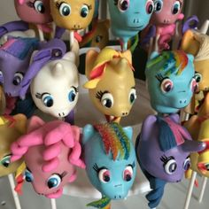 My Little Pony Cake Pops