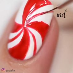 Go extra with these festive nail design ideas Credits: Nail Art Designs Videos, Nail Art Videos, Diy Nail Designs, Cute Acrylic Nails, Cute Nails, Pretty Nails, Nail Art Diy, Diy Nails, Nail Nail