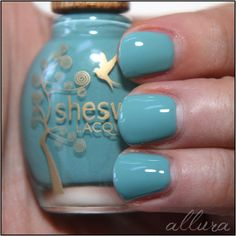 """Sheswai Nail Lacquer in """"Stoked"""""""
