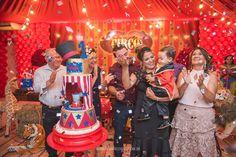Festa do Felipe - com o tema circo em Aracaju - Planeta Mágico - Inspirações para festa circo