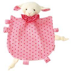 Kathe Kruse - Organic Ikibab Towel Doll - Pink Lamb