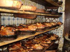 Botin restaurant, Madrid - one of the oldest restaurants, since 1725!!!