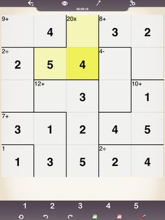 Get your student thinking with the KenKen app -  a free math puzzler