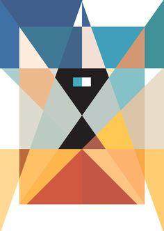 Color / minimal geometric design