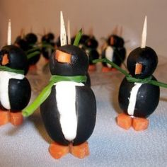 Adorable Penguin Appetizers