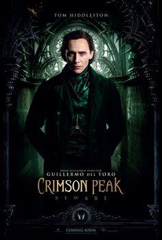 Crimson Peak Tom Hiddleston Poster