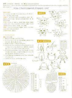 Pin by latrapillo cosemucho on crochet patternspatrones crochet amigurumi mushrooms diagram ccuart Image collections