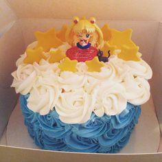 Sailor Moon cake for the birthday girl