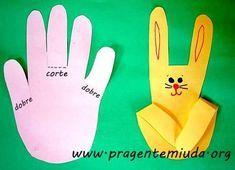 Spring Crafts For Kids Easter Art, Easter Crafts For Kids, Toddler Crafts, Diy For Kids, Easter Bunny, Easter Activities, Preschool Activities, Diy Ostern, Bunny Crafts