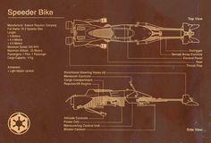 Speeder Bike Star Wars