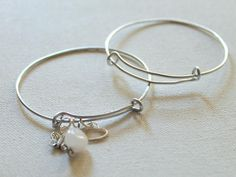 These One Size Fits All DIY Bangles adjust to fit any wrist!