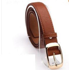2017 Belts for Women Fashion Belts Cinturones Mujer Ladies Faux Leather Metal Buckle Straps Girls Fashion Accessories Metal Belt, Metal Buckles, Belt Buckles, Leopard Belt, Brown Leopard, Leather Belt Buckle, Faux Leather Belts, Leather Jeans, Women Accessories