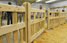 Timber Frame Gate - Heavy Timbered Gate - Timber Framed Gate - Wooden Gate - Homestead Timber Frames - Crossville Tennessee