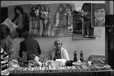 James Ravillious, Mrs Honeyclose's stall at the Barnstaple Pannier Market Documentary Photographers, Seaside Towns, White Sand Beach, Documentaries, Marketing, Landscape, Devon, Photography, Fictional Characters