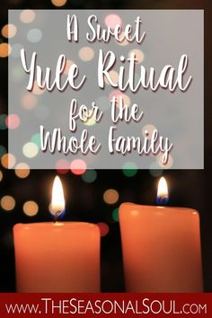 Celebrate the Winter Solstice with Children by performing this simple Yule Ritual with your Family.
