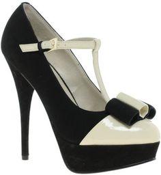 ShopStyle: Kelsi Dagger Tilda Leather T-Bar Heeled Shoes