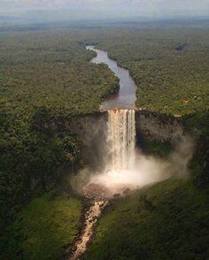 Kaieteur Falls, Guyana Photo by : ©Wswaugh…