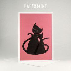 Cats Illustration by Papermint cards #bigbadwolf #papermint #illustration #mothers_day_card #kids_happy_birthday_wishes #cards_for_kids #mothers_day_greetings_messages #greeting_of_the_day #grusskarten_bilder #web_grußkarten #kinder_geburtstag_karten #glückwünsche_zum_geburtstag_kinder