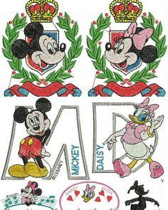 Dreams Free Embroidery: Disney