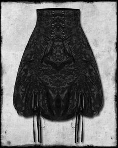 SPIN DOCTOR VICTORIAN STEAMPUNK GOTHIC CORSET SKIRT