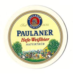 Excellent beer from Munich: Paulaner Heffeweisen